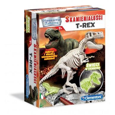 Zestaw Kreatywny Skamieniałości T-Rex 60889 Clementoni