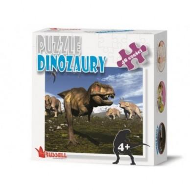 Puzzle Dinozaury 48 el. Russell PZ48-2 374650