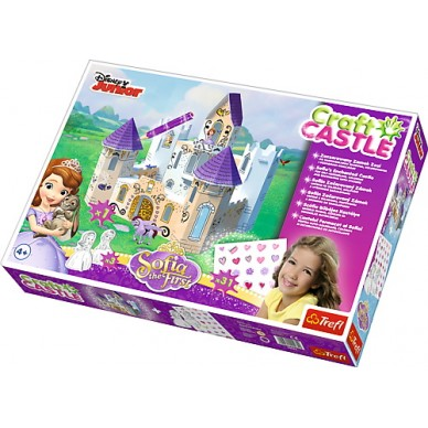 Zaczarowany zamek Zosi Craft Castle 20082 Trefl