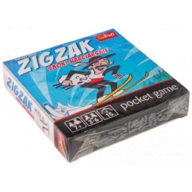 Karty Zigzak skoki narciarskie Dariusz Kułak K95012 Trefl