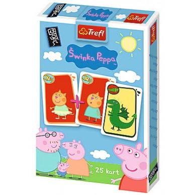Karty do gry 25 świnka Peppa 08277 trefl