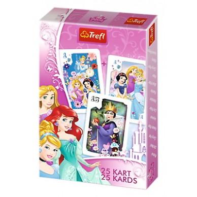 Karty do gry 25 Księżniczki Disney'a 08460 Trefl
