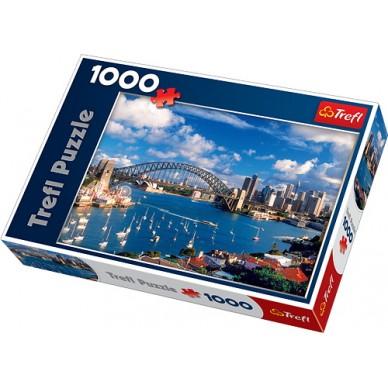 Puzzle 1000 el Port Jackson Sydney 10206 Trefl