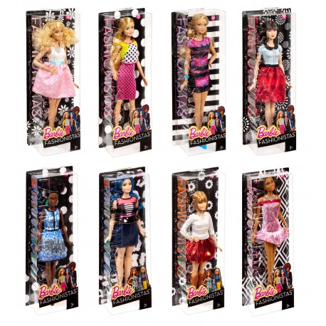Lalka Barbie Fashionistas DGY54