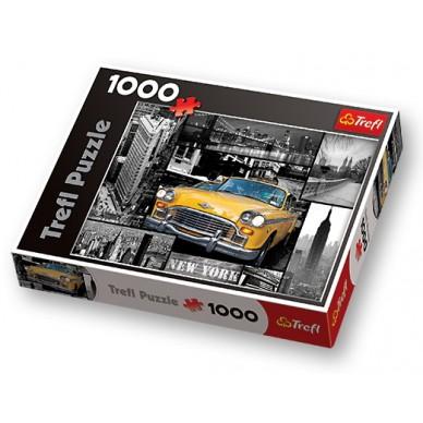 Puzzle 1000 el Nowy Jork Kolaż 10271 Trefl