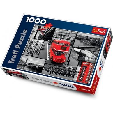 Puzzle 1000 el Londyn Kolaż 10278 Trefl