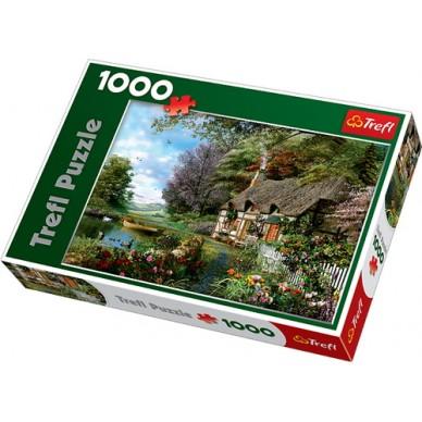 Puzzle 1000 el Uroczy Zakątek 10297 Trefl