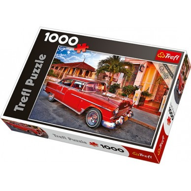 Puzzle 1000 el Chevrolet Bel Air Oldtimer Kuba 10354 Trefl