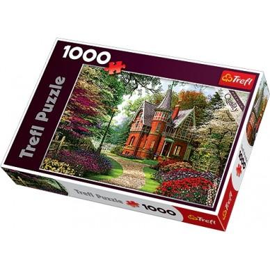 Puzzle 1000 el Wiktoriański dom 10355 Trefl