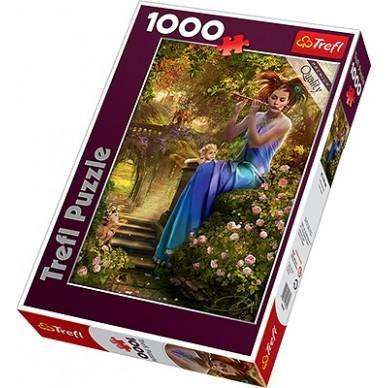 Puzzle 1000 el Kołysanka flecistki 10356 Trefl
