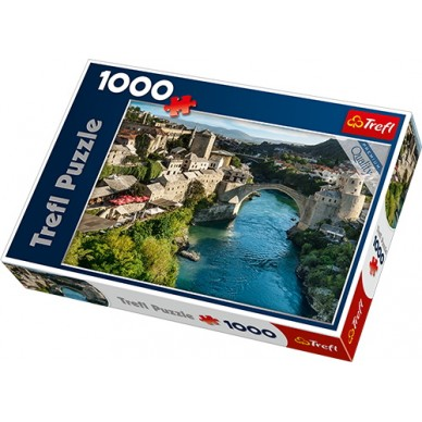 Puzzle 1000 el Mostar Bośnia i Hercegowina 10383 Trefl