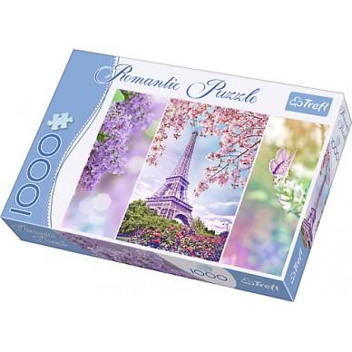 Puzzle 1000 el Wiosna w Paryżu 10409 Trefl