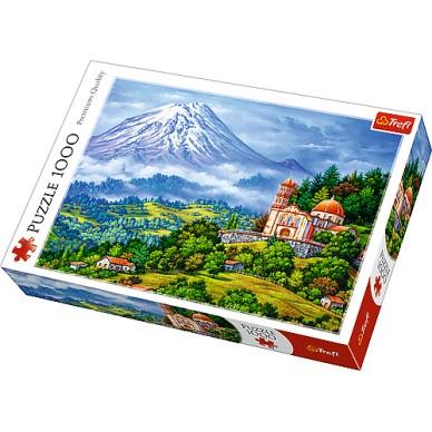 Puzzle 1000 el Pejzaż z wulkanem 10431 Trefl