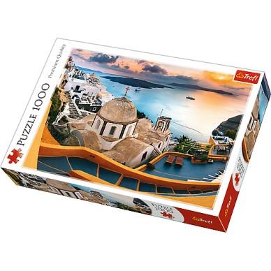 Puzzle 1000 el Bajkowe Santorini 10445 Trefl