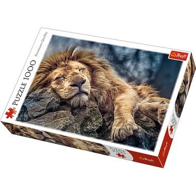 Puzzle 1000 el Śpiący Lew 10447 Trefl