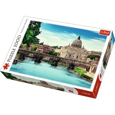 Puzzle 1000 el Most Św Anioła 10449 Trefl