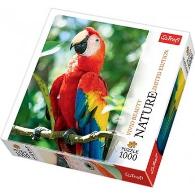 Puzzle 1000 el Ara czerwona Honduras 10516 Trefl