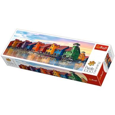 Puzzle 1000 el Groningen Holandia 29034 Trefl