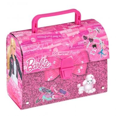 Kuferek kartonowy z rączką Barbie Starpak