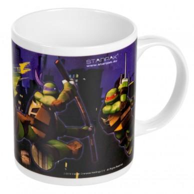 Kubek ceramiczny Wojownicze Żółwie Ninja 250 ml Starpak