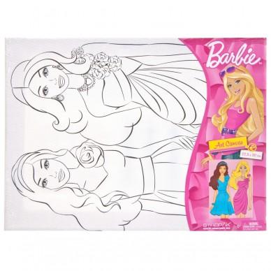 Podobrazie do malowania Barbie