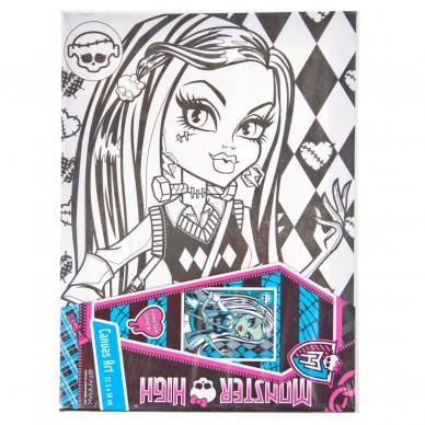 Podobrazie do malowania Monster High Starpak