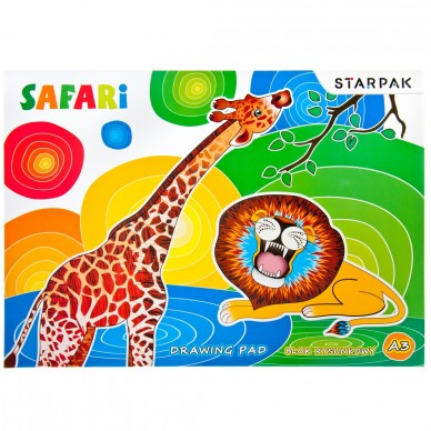 Blok rysunkowy A3 20 kartek Safari Starpak