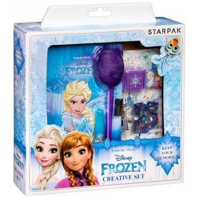 Zestaw kreatywny Pamiętnik + akcesoria Frozen Starpak
