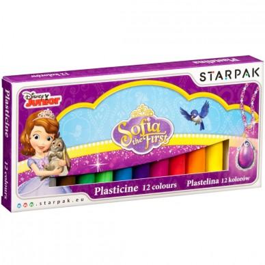 Plastelina 12 kolorów Księżniczka Zosia Starpak