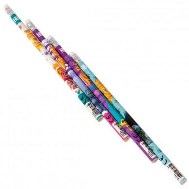 Ołówek z gumką 4 szt. Trolls Starpak