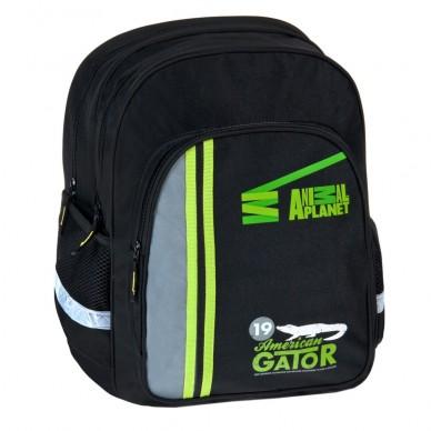 Plecak szkolny Animal Planet Aligator Starpak 329107
