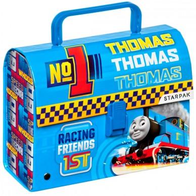 Kuferek kartonowy z rączką Thomas&Friends Starpak 253948
