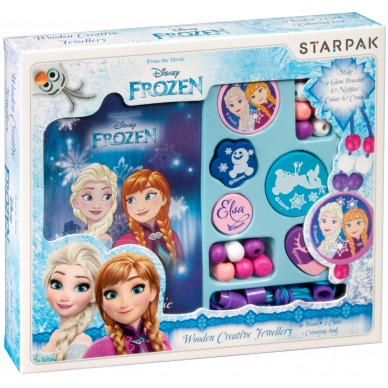 Biżuteria kreatywna drewniana Frozen Starpak 363608