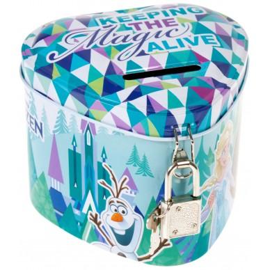 Skarbonka metalowa serce Frozen Starpak 384333