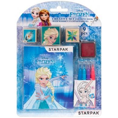 Zestaw kreatywny do kolorowania Frozen Starpak 382501