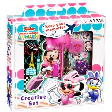 Zestaw kreatywny: Pamiętnik + akcesoria Minnie Starpak 375198
