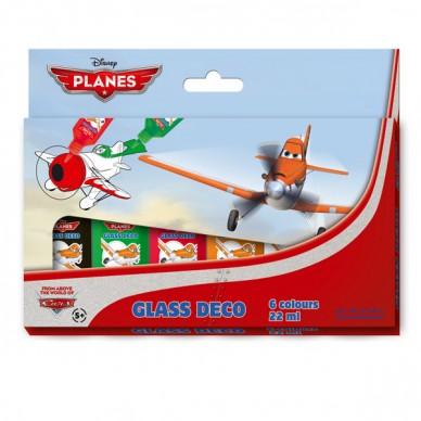Farby witrażowe Samoloty Planes Starpak