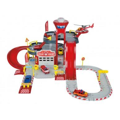 Creatix Stacja ratownicza + 1 Helikopter +1 samochód 212050015 Smoby