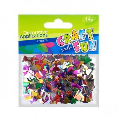 Konfetti metaliczne Puchar Craft with Fun