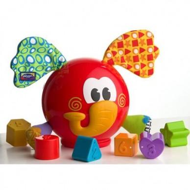Edukacyjny Słoń Sorter PL180262 Playgro