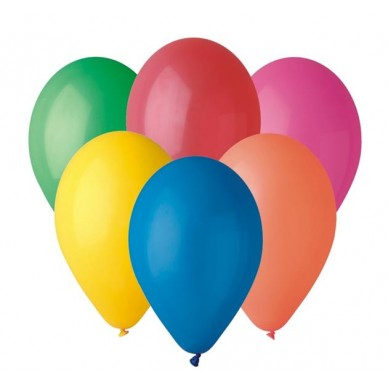 Balon dekoracyjny mix kolorów pastelowy G90/80 GO Godan
