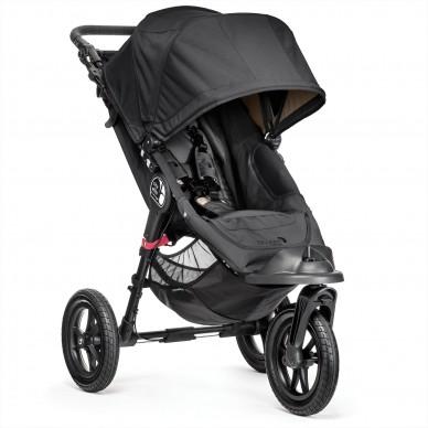 Wózek Baby Jogger City Elite Single BJ13410 Black/Gray