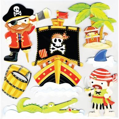 Dekoracja ścienna Pirat