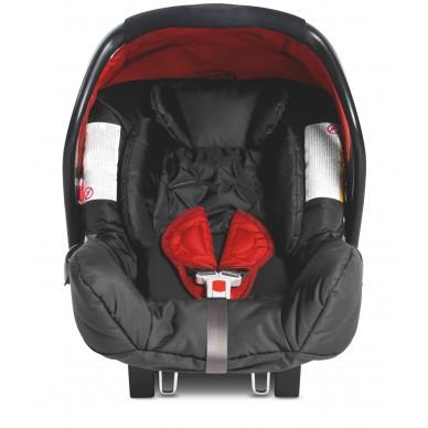 Fotelik samochodowy Graco Junior Baby 8F299CRDU/1819726 kolor: chilli + adapter
