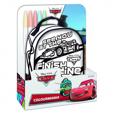 Plecak mini do malowania Cars Starpak