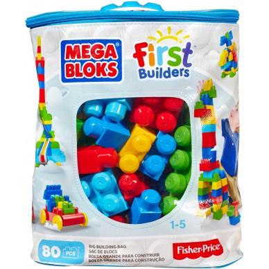 Klocki MAXI w torbie 80 el 08327U Mega Bloks