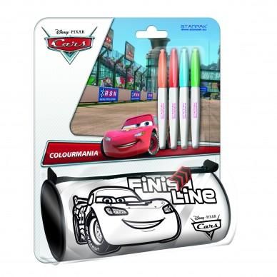 Piórnik tuba do malowania Cars Auta Starpak