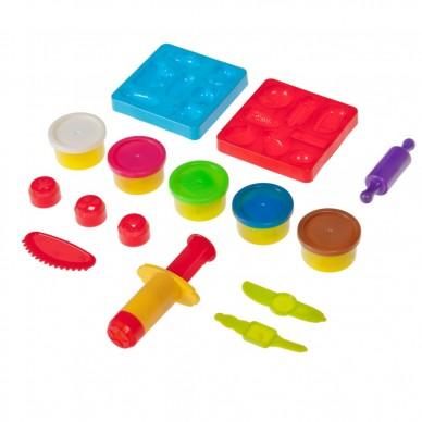 Masa plastyczna z akcesoriami Mega Creative F012-19