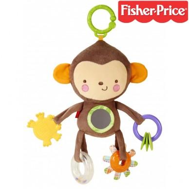 Małpka z zabawkami CBW55 Fisher Price
