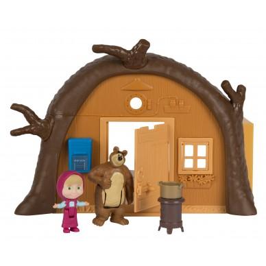 Domek plastikowy Niedźwiedzia 109301632 Masza i Niedźwiedź Simba